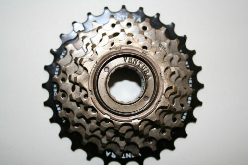 Screw Sprocket with Free Wheel Sprocket 6 x 14-28 teeth for Shimano New