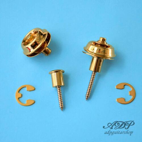 Attache Courroie Strap Lock Dunlop Security 2x Flush Mount AP6583 CLOSEOUT2