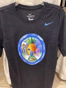 servidor máquina Aburrir  Nike Dri-Fit Bob Esponja Piña House Kyrie Irving Camiseta de hombre talla  pequeña | eBay