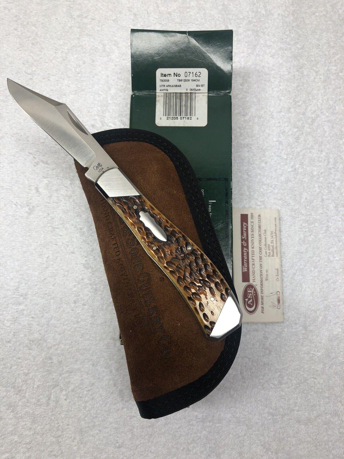 Case XX / Tony Bose Collaboration Knife 2008 Ltd. Ed Arkansas Hunter #07162 TB61