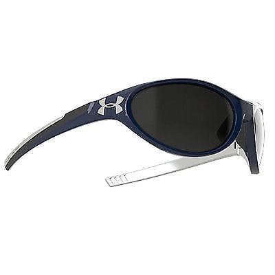 14cb588ee7 Under Armour Glyde Sunglasses Navy Blue Gray Lenses UA 8600043 8801 for  sale online