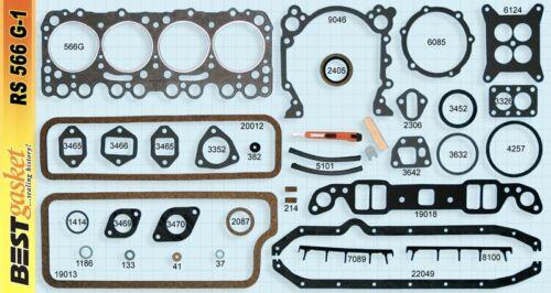 Oldsmobile 1954 55 56 V-8 324 engine kit rering rings gaskets bearings big ends