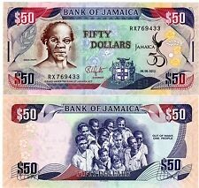 JAMAICA Jamaique Billet 50 Dollar 2012 COMMEMORATIVE  50th Independance NEUF UNC