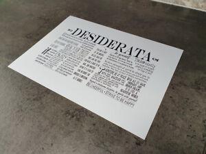 Desiderata-A4-print