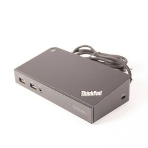 Lenovo ThinkPad OneLink Plus Dock DU9047S1 SD20H13054 03X6296 90W AC ADAPTER