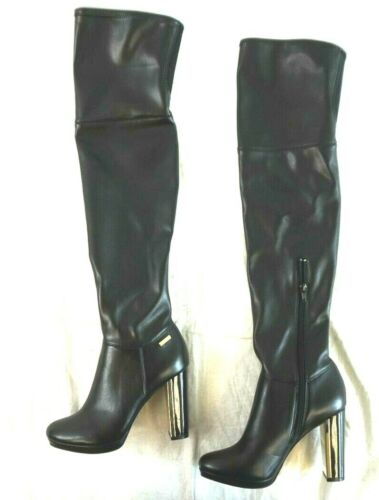 6 Damen Nib Pammie Calvin Klein M Stretch Overknee Schwarze 190919740088 Stiefel 8xqfBHqw