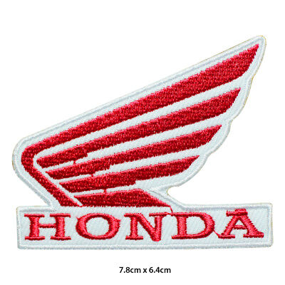Iron On//Sew On #9 Honda Motorcycle Racing Logo Patch