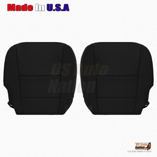 Driver & Passenger Bottom Leather Seat Cover For 2016 2017