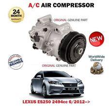 FOR LEXUS ES250 2AR-FE 2494cc 2012-> ORIGINAL AC AIR CONDITION COMPRESSOR