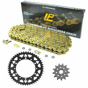 Motorcycle-Chain-48-51-14T-520-for-Yamaha-YZ450F-03-06-Front-Rear-Sprocket-Kit