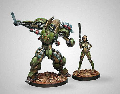 40mm Mercenary Python Tag Squadron High Quality Resin Kit 2 Figures