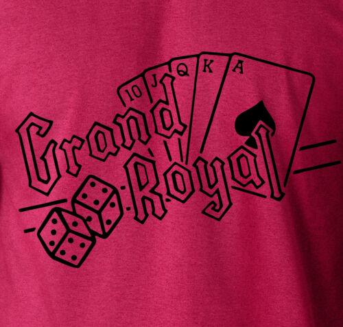 Beastie Boys GRAND ROYAL T-Shirt AD Rock MCA Run DMC 100/% Ringspun Cotton Tee