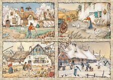 NEW! Jumbo 4 Seasons by Anton Pieck 1000 piece nostalgic jigsaw puzzle