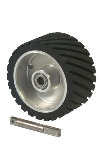 Contact Wheel 200 x 75mm with axle 20mm For Belt Grinder