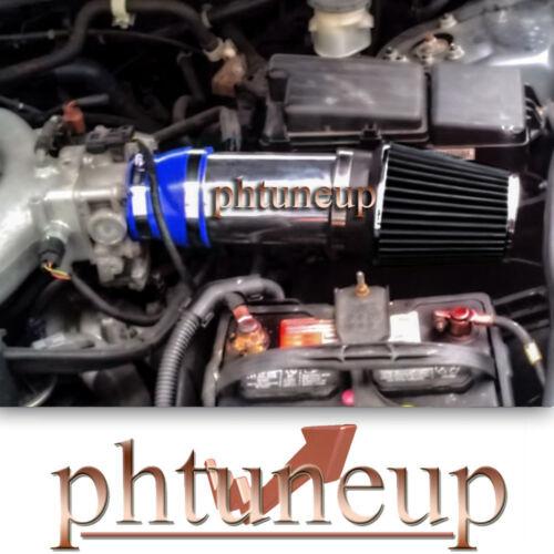 BLUE-BLACK AIR INTAKE KIT for 2003-2007 HONDA ACCORD EX//LX//SE 3.0L V6 ENGINE
