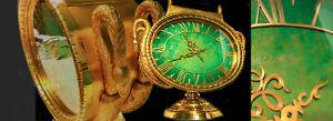 Patek Philippe 1965 Jade Swan Solar Clock Largest Solar Clock Ever Made