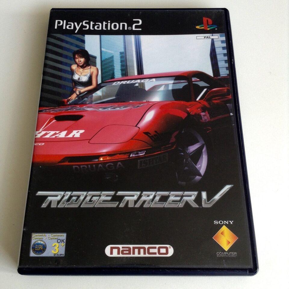 Ridge Racer V, PS2, racing