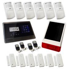 Wireless Burglar Alarm GSM Touch Screen Intruder House Sentry Pro Solution 4