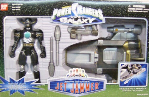 Power Rangers Lost Galaxy - Magna Defender Jet Jammer With 5  Figure Bandai MIB