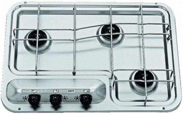 94380 Piano Cottura in acciaio cucina gas camper Roulotte Smev Dometic PI913