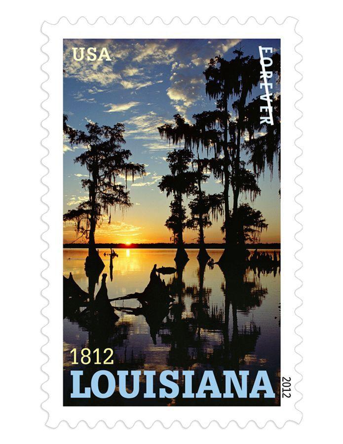 2012 45c Louisiana Statehood Scott 4667 Mint F/VF NH