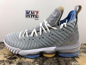 separation shoes e829b d3ce0 Details about NEW NIKE MEN'S Lebron 16 XVI Wolf Grey White Lakers   size 14    CK4765 001   NIB