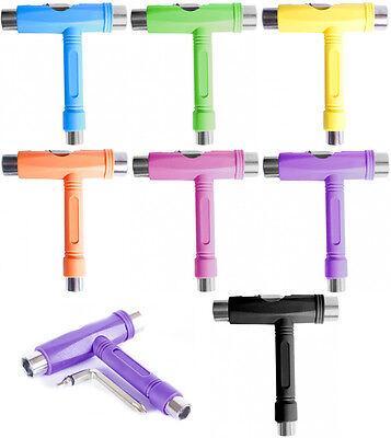 Skateboard Roller Rollschuhe Lang Brett Inbusschlüssel T-form Werkzeug 5-fach
