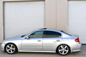 Hic Usa 2003 To 2006 G35 Sedan Rear Window Roof Visor Spoiler New Ebay