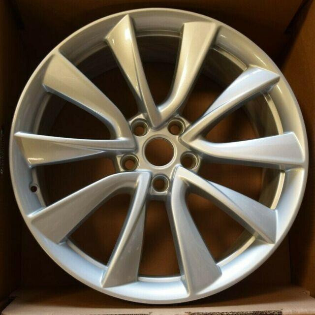 Factory Tesla Model 3 Wheels Tires 19 Inch OEM Genuine ...