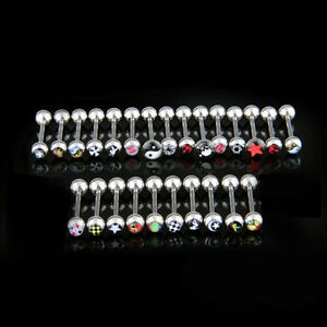 25-Logo-Surgical-Steel-Tongue-Bar-Ring-Barbell-Piercing-ED