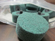 """320 GRIT 25pc 2"""" x 1"""" ROLOC ROLL LOCK TYPE R SILICON CARBIDE CYLINDER SCUFF DISC"""