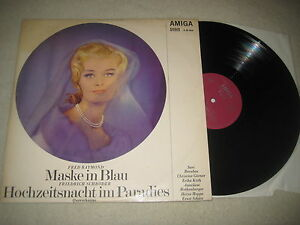 Fred-Raymond-Maske-in-Blau-Vinyl-LP-Amiga-stereo-1969