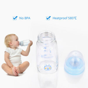1Pc-120ML-Wide-Neck-Anti-colic-Baby-Infant-Milk-Feeding-Nipple-Bottle-Nurser-New