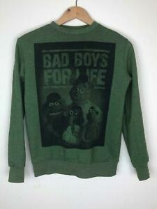 Disney-Jumper-The-Muppet-Show-Green-Cotton-Bad-Boy-For-Life-Sweatshirt-12-13-Yrs