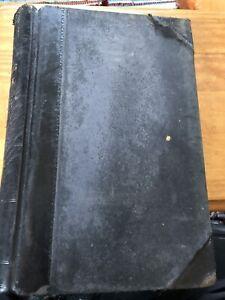 Antique-Ledger-1951-Order-Book-Stage-Film-Play-Theatre-Prop-Hand-Written-Vintage