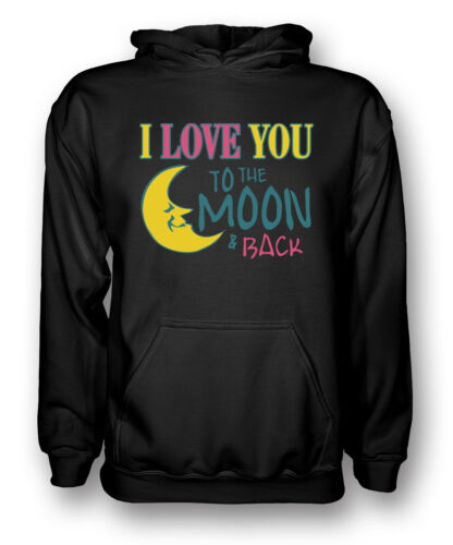 Mens Hoodie Movie Quote I Love You To The Moon And Back