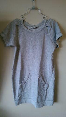 Stella McCartney Sweatshirt Dress Grey Size 42