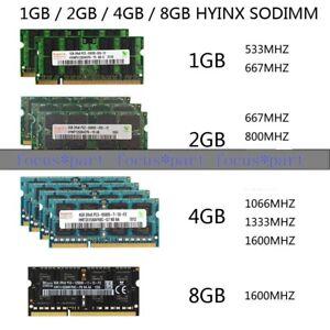 Lot For Micron 8GB 4GB 2GB DDR2 667 800 DDR3 1333 1600 MHz Laptop Memory SODIMM