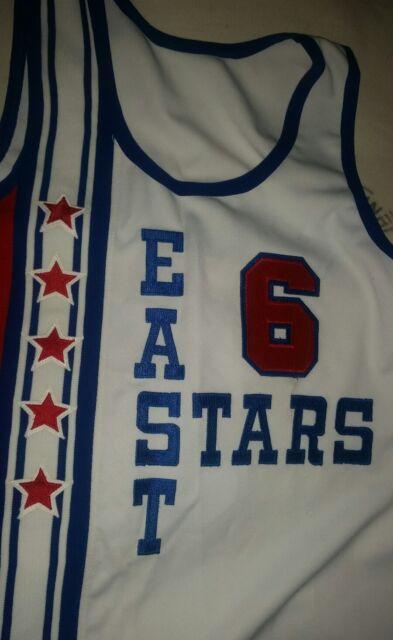 Julius Erving 6 Mitchell Ness All-Star Basketball Jersey Hardwood Classic  NBA bb494e6d9