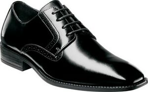 Image is loading Stacy-Adams-Mens-Ardell-Slip-Resistant-Plain-Toe-