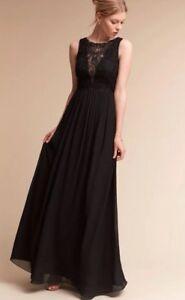 8a0d59de6f712 Image is loading Anthropologie-BHLDN-Dolly-Dress-Jenny-Yoo-Black-Wedding-