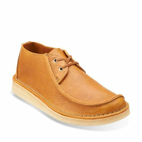eedfd6faac34 Clarks Originals Seam Trek Men s L Stitch Tumbled Leather Style Tan  26113254 8 for sale online