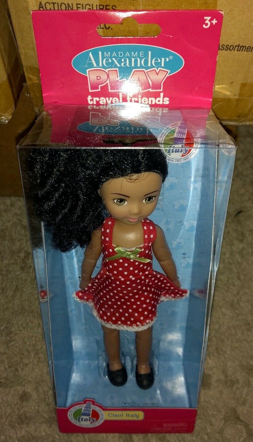 Italy NEW Madame Alexander Play Travel Friends Doll Ciao