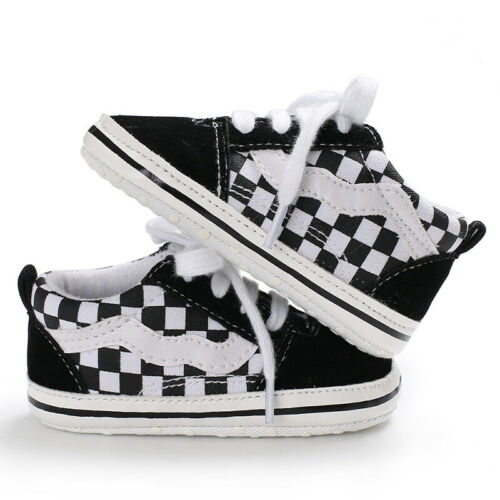 Classic Newborn Baby Boy Girl Crib Shoes Casual Shoe Infant Sneakers 3 6 9 12 18
