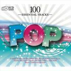 100 Essential Tracks: Pop by Various Artists (CD, Jun-2010, 5 Discs, Sony Music)