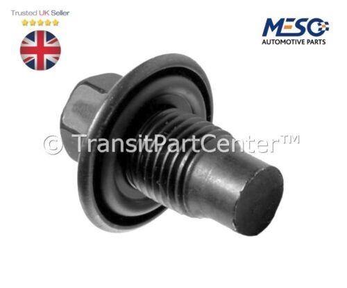 ENGINE OIL SUMP PAN DRAIN PLUG AND GASKET FORD TRANSIT MK7 2.2 2.4 3.2 2006-2014