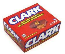 Clark Bar Candy Bar 24ct Milk Chocolate Peanut Butter Crunch FREE SHIPPING