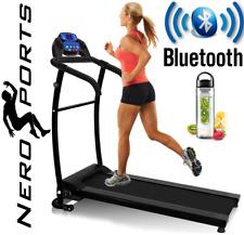 BLUETOOTH NERO PRO TREADMILL Electric Motorised Folding Running Machine
