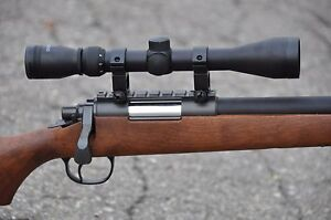 One-Airsoft-Wood-Color-Well-VSR-10-Sniper-Bolt-Action-500-FPS-X9-Scope