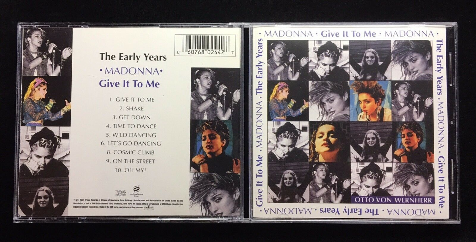 The Early Years: Give It to Me by Madonna (CD, Oct-2001, Trojan)